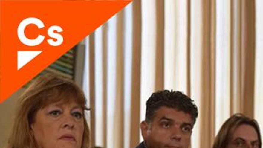 María Isabel Hernández, edil de C's en el Ayuntamiento de Almería.