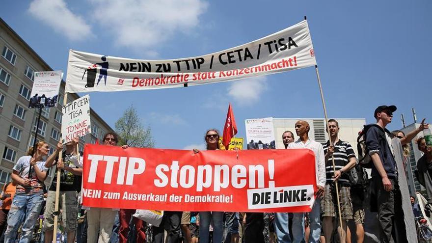 Las protestas contra el TTIP alcanzan el Congreso de Católicos de Alemania