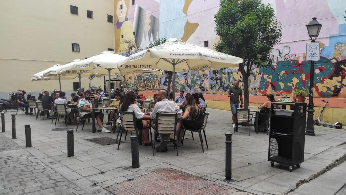 La oficiosa plaza de Xosé Tarrío en la actualidad
