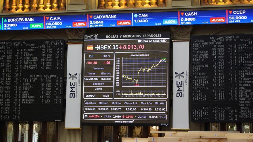 La Bolsa española se da la vuelta y sube el 0,26 % tras la apertura