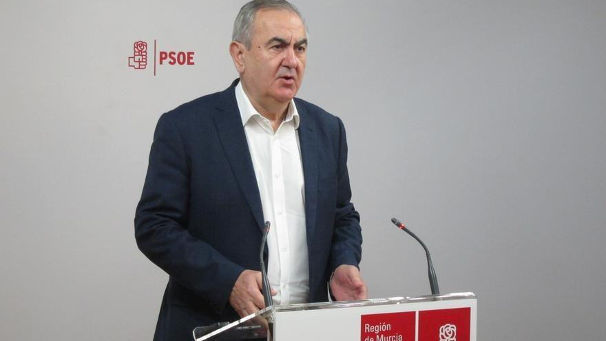 """El PSOE de Murcia acusa a Cs de """"apoyar la corrupción"""" al votar a favor del candidato del PP"""