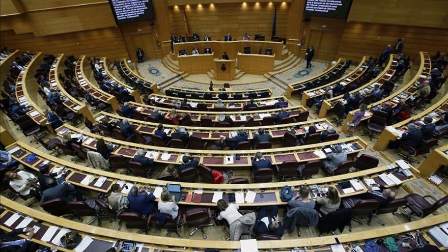 El PP logra la mayoría absoluta en el Senado con 124 escaños, al casi 100 % escrutado
