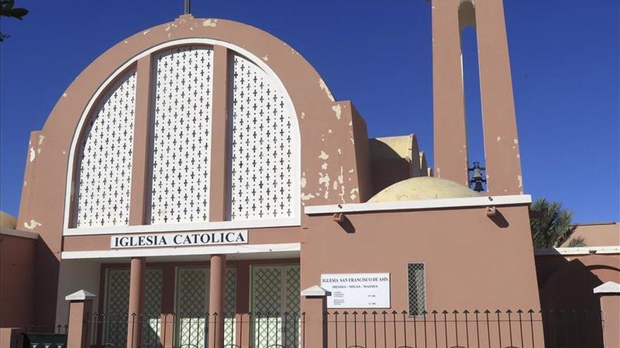 Lo que queda de España en el Sahara: Iglesia, Casino y Colegio