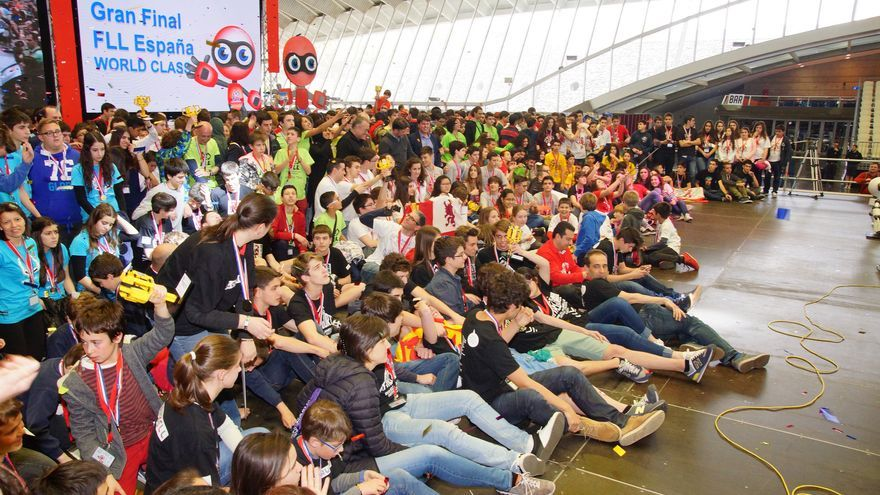 Gran Final de First Lego League España celebrada en Tenerife