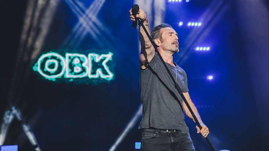 Jordi Sánchez, vocalista del grupo OBK. | ARCHIVO