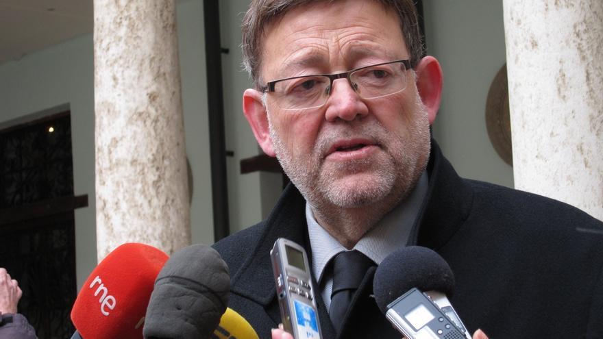 """Puig critica que Fabra """"ante la disyuntiva de quedar bien con Rajoy o los valencianos, siempre quedará bien con Rajoy"""""""