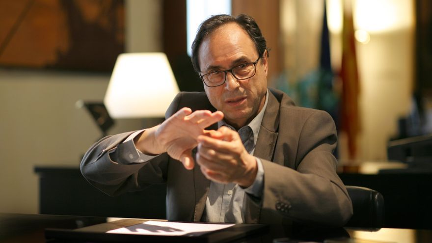 El conseller de Hacienda y Modelo Económico, Vicent Soler
