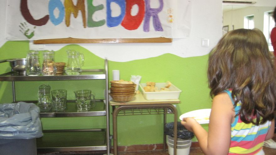 Comedor escolar de verano