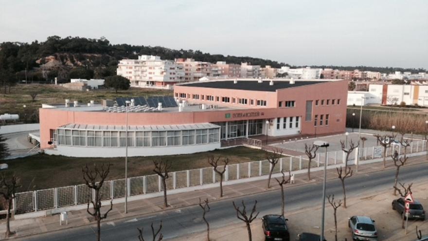 Vista aérea de la Escuela de Hostelería de Islantilla