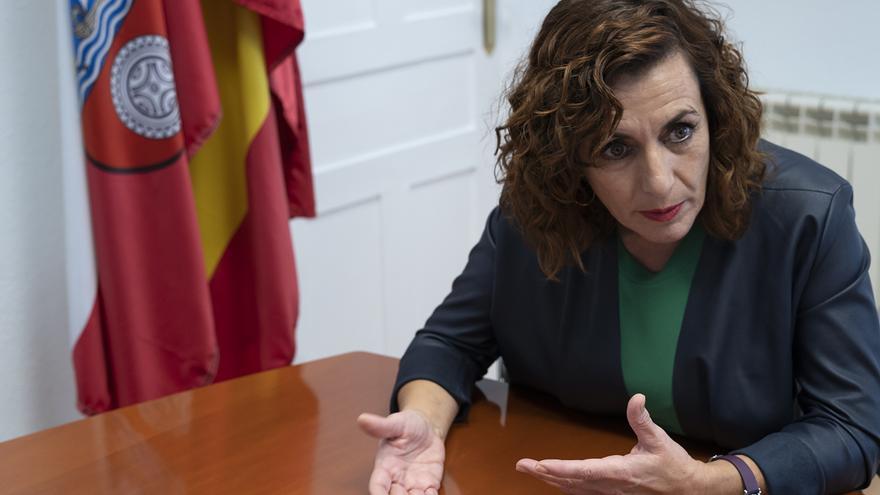 Ana Belén Álvarez, consejera de Empleo y Políticas Sociales de Cantabria.   JOAQUÍN GÓMEZ SASTRE