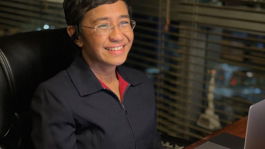 María Ressa, la audaz periodista filipina galardonada con el Nobel de la Paz