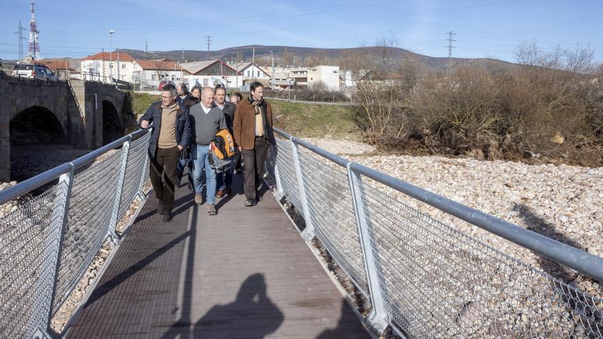 Reinosa declarará la emergencia de actuaciones de limpieza en la confluencia del Híjar y Ebro