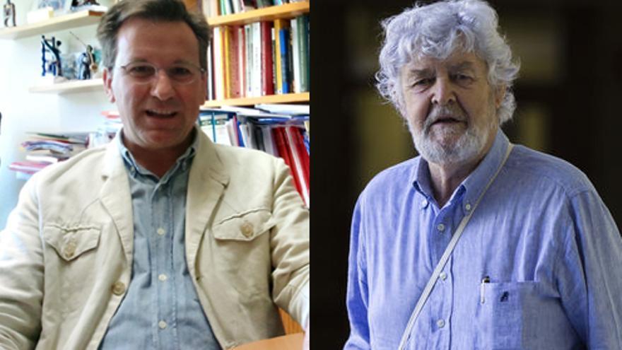Xavier Vence y Xosé Manuel Beiras