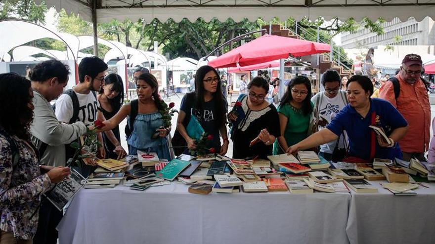 La cultura y las letras españolas toman Manila en el Día del Libro