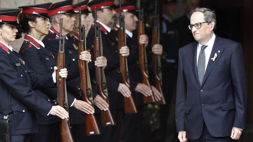 """Torra pedirá a Rajoy que """"respete"""" el derecho a la autodeterminación"""