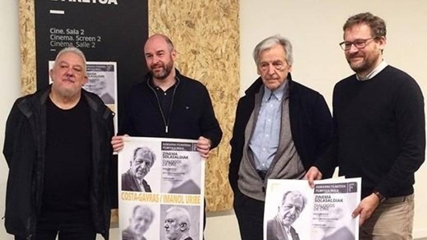 Costa-Gravas e Imanol Uribe cierran el sábado los 'Diálogos de cine' de la Filmoteca Vasca y DSS2016EU