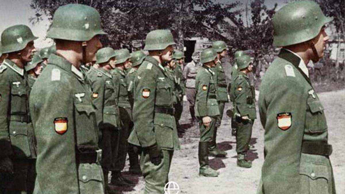 Imagen del libro sobre la División Azul de Caballero Jurado