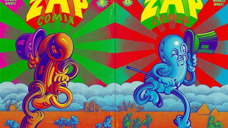 El mítico número 4 de la revista Zap! (1970)
