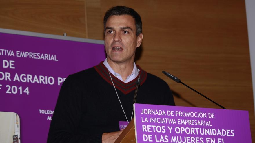 Pedro Sánchez interviene este domingo en una asamblea abierta con jóvenes socialistas en Toledo