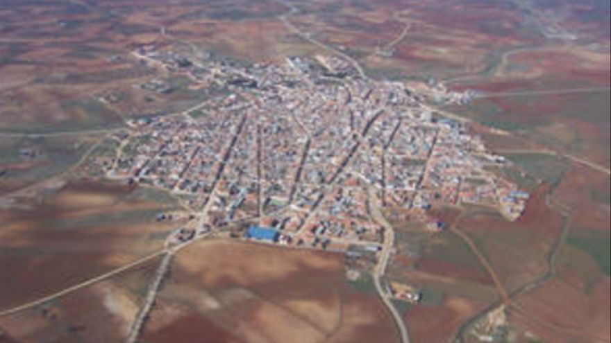 Vista áerea de Castellar de Santiago / Ayuntamiento