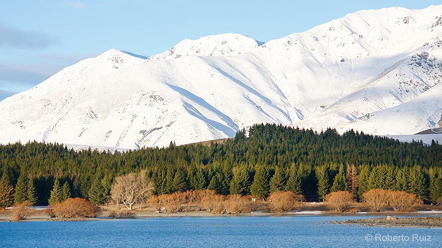 El Lago Tekapo en Nueva Zelanda