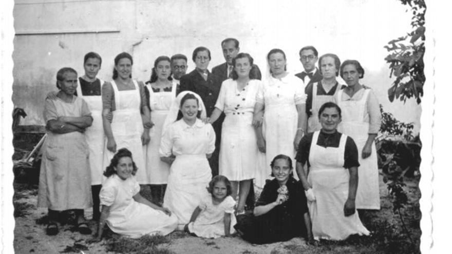 Trabajadores del Centro Secundario de Higiene Rural de Talavera de la Reina