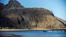 Playa de Las Teresitas.