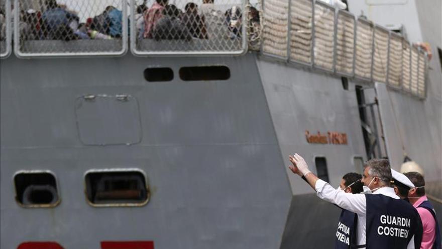 Italia coordinó el rescate de casi dos mil inmigrantes en las últimas horas