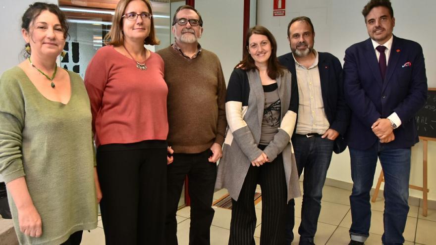 Participantes en las Jornadas por el Acuerdo Social del Agua de Ganemos Toledo