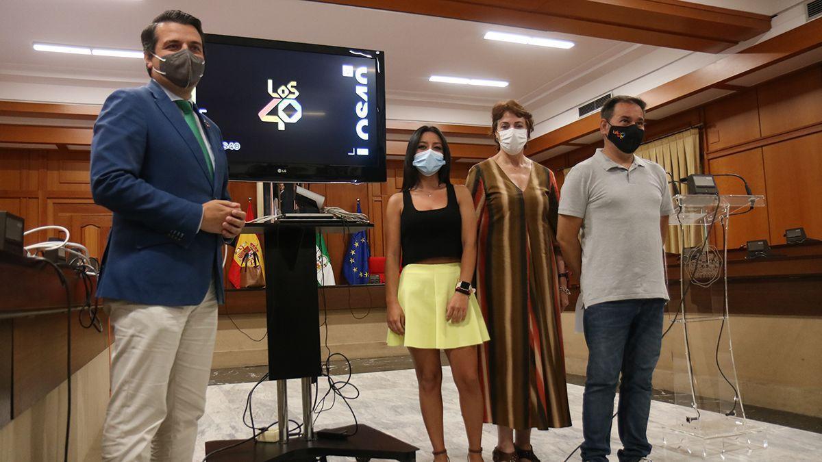 Presentación de Los 40 en Córdoba.