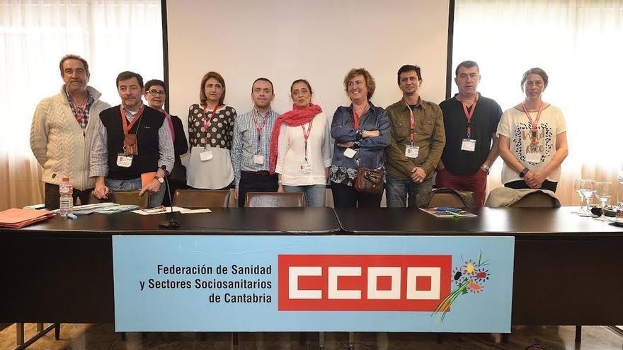 Arancha Cossío, nueva secretaria de la Federación de Sanidad de CCOO