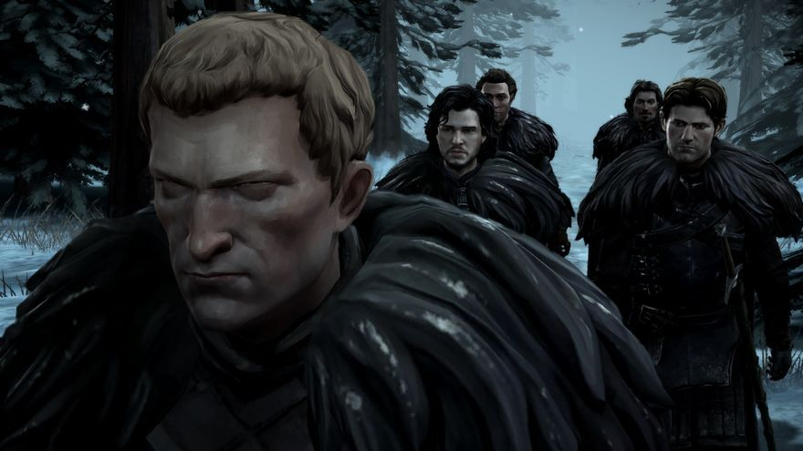 Game of Thrones: A Telltale Games Series The Sword in the Darkness