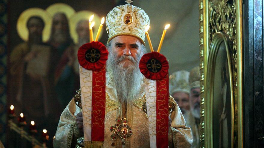 Muere por covid-19 el arzobispo de la Iglesia serbia en Montenegro