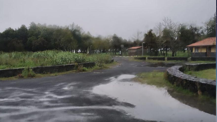 Lluvias este miércoles en el norte de La Palma que pueden ser  en forma de chubascos fuertes en medianías