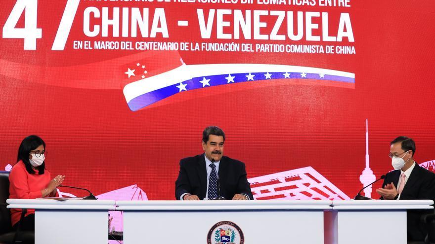 """Maduro dice que Venezuela y China están """"más unidas que nunca"""""""