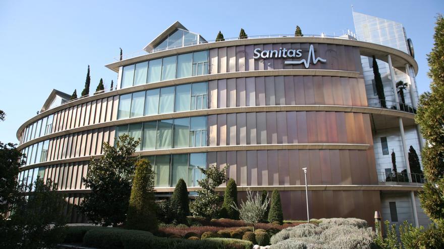 Sede social del Grupo Sanitas. / Sanitas