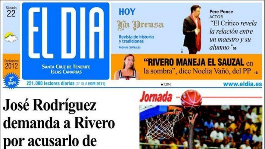 De las portadas del día (22/09/2012) #3