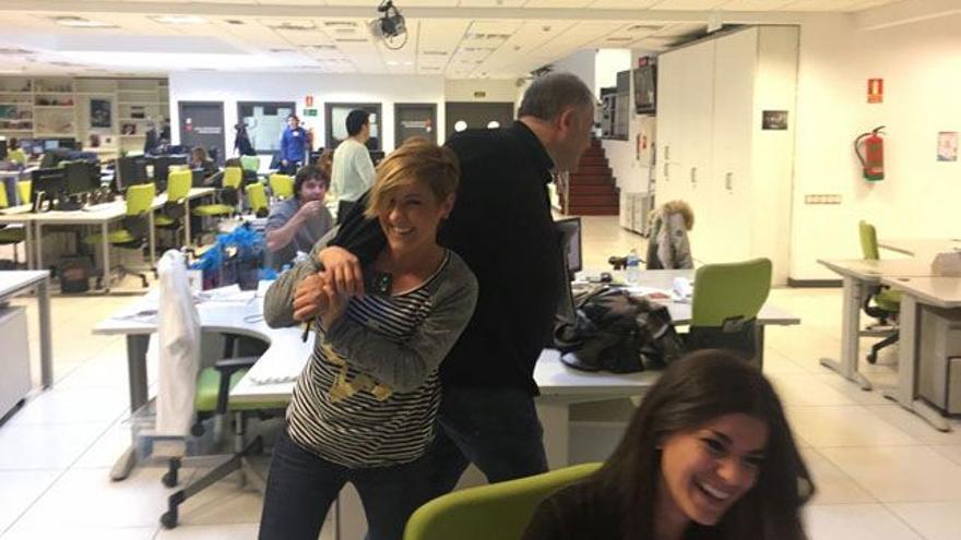 La broma de Cristina Pardo con Ferreras y la Lotería de Navidad