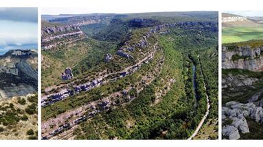 La comarca española de Las Loras, designada Geoparque Mundial de la Unesco