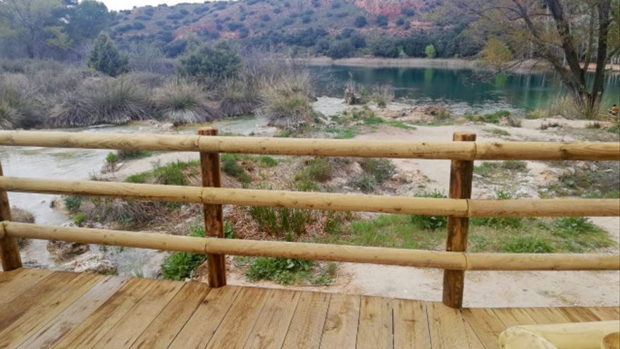 Nuevas pasarelas en las Lagunas de Ruidera
