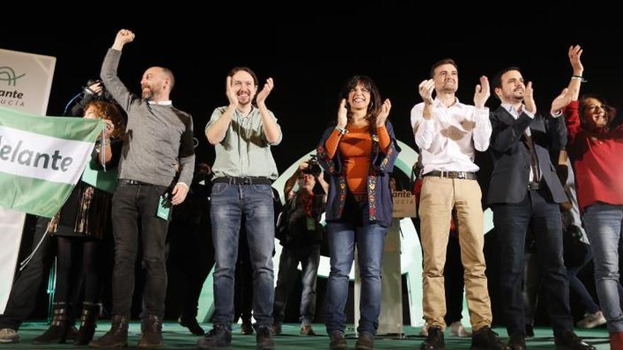 """Pablo Iglesias dice que Andalucía es """"el segundo plato"""" para Susana Díaz"""