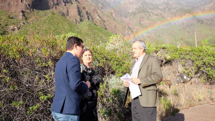 Visita de Pablo Rodríguez a El Hierro