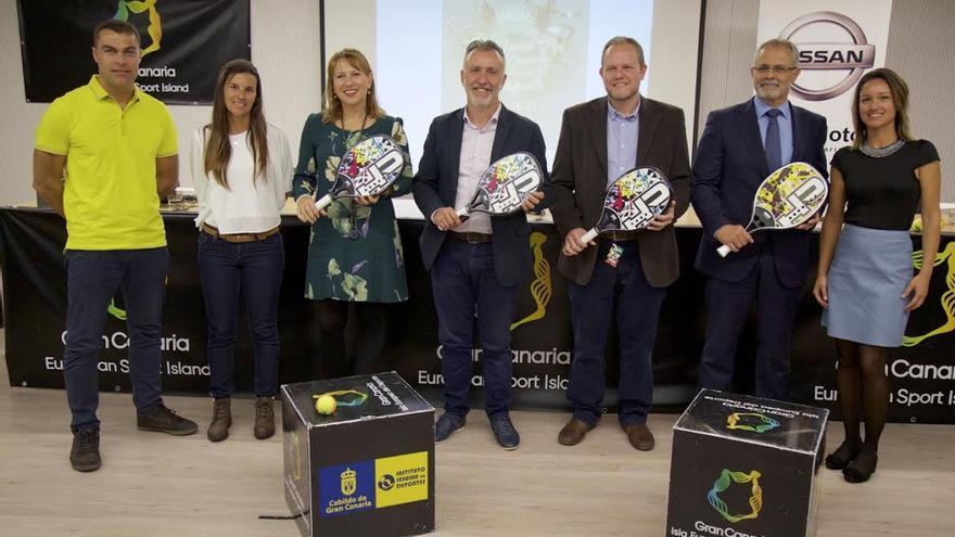 Presentación del Open de Gran Canaria.