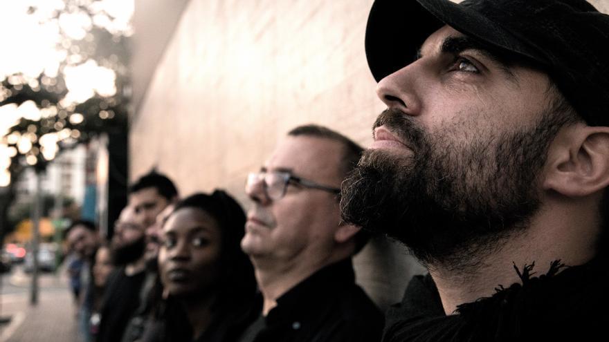 Imagen promocional de la banda Patáx