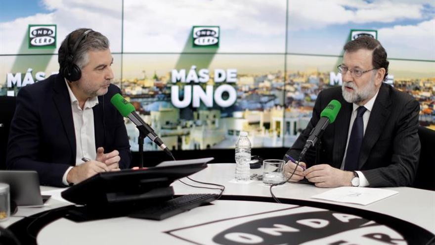 """Rajoy asegura que """"no sabía nada"""" de la financiación del PP valenciano"""