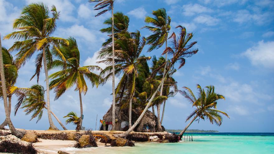 Playa en Isla Pelícano, una de las más salvajes y bonitas de San Blas. Felipe Valduga