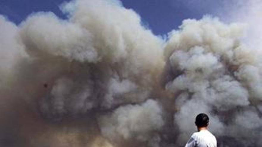 Incendio en Guadalajara