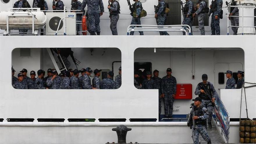 El ejército filipino cree que 36 yihadistas podrían estar escondidos en Marawi
