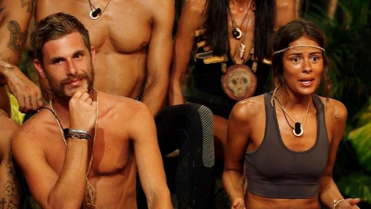 Tom y Melyssa en 'Supervivientes 2021'