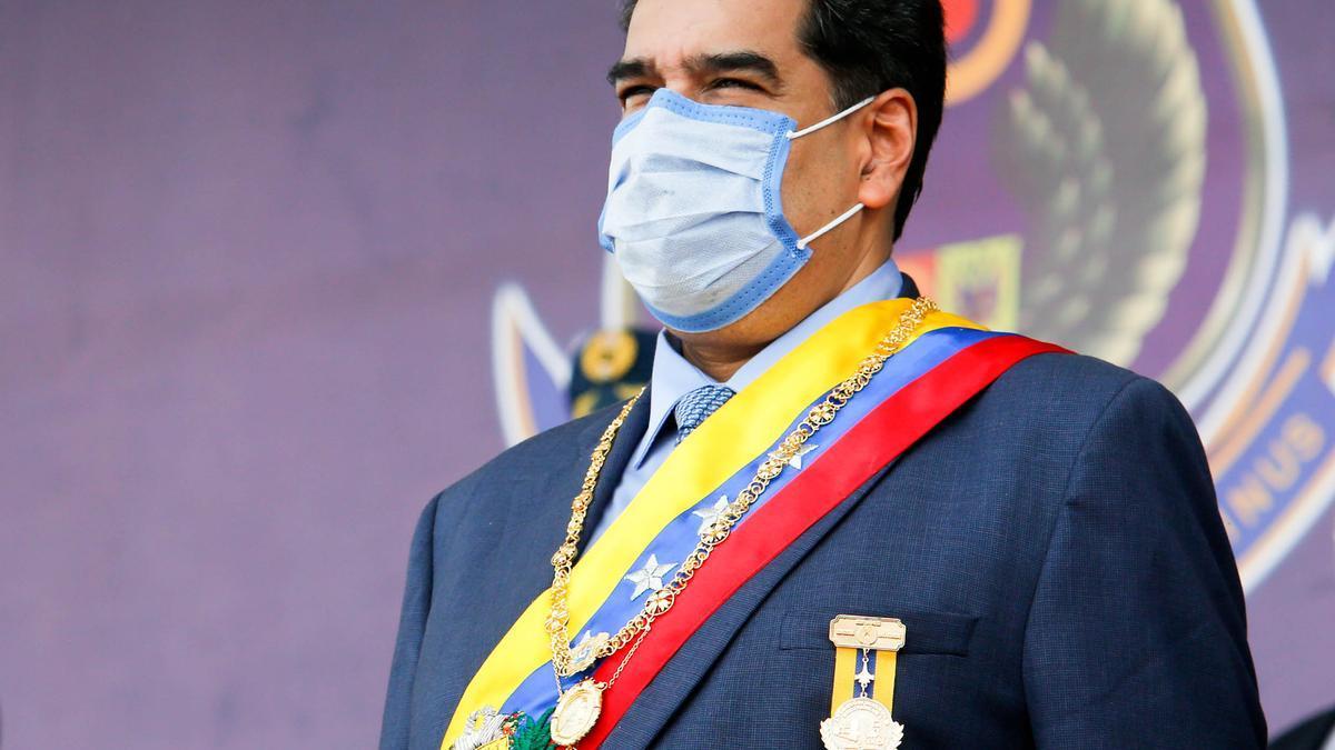 El presidente de Venezuela, Nicolás Maduro, durante un acto celebrado el pasado 27 de noviembre